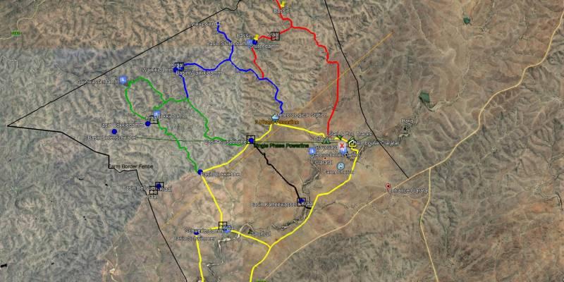 Farm Claratal Map